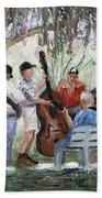 Bluegrass In The Park Beach Towel