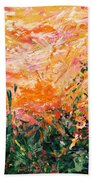 Bluegrass Sunrise - Desert A-left Beach Towel