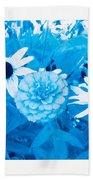 Blue's Art Beach Towel
