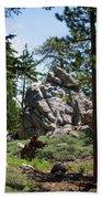 Bluff Lake Ca Boulders 1 Beach Towel