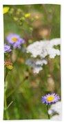 Bluff Lake Ca Wild Flowers 6 Beach Sheet