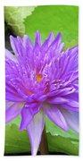 Blumen Des Wassers - Flowers Of The Water 17 Beach Towel