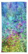 Blurred Garden 4798 Idp_2 Beach Towel
