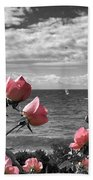 Blustery Summer's Day  Beach Towel