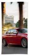 Bmw M235i Coupe Beach Towel