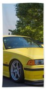 Bmw M3  Beach Towel