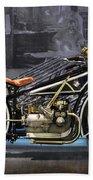Bmw Vintage Motorcycle Beach Towel