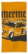 Bmw320 Gr5 Racing Beach Towel