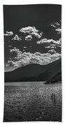 Bnw Lago De Coatepeque - El Salvador V Beach Towel