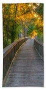 Boardwalk Sunset Beach Sheet