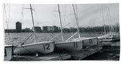 Boat Club #1 Beach Towel