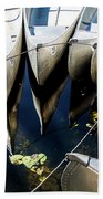 Boat Load Of Reflections Beach Towel