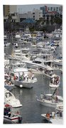 Boat Party Beach Towel