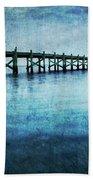 Boathouse Blue Beach Towel