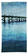 Boathouse Blue Beach Sheet