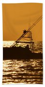 Boating And Fishing Beach Towel
