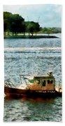 Boats - Police Boat Norfolk Va Beach Sheet