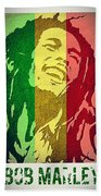 Bob Marley II Beach Towel