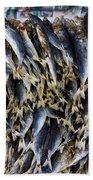Bodboron Filipino Dried Fish Beach Towel