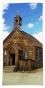 Bodie Church IIi Beach Towel