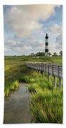 Bodie Island Lighthouse North Carolina Beach Towel