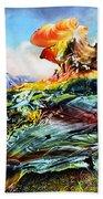 Bogomil Landscape Beach Towel by Otto Rapp