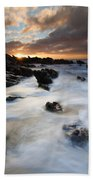 Boiling Tides Beach Towel