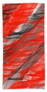 Bold And Dramatic Beach Towel