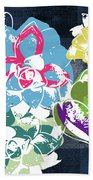 Bold Succulents 2- Art By Linda Woods Beach Towel
