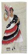 Bolero Costume Beach Sheet
