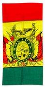 Bolivian Flag Beach Towel