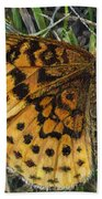 Boloria Bellona Beach Towel