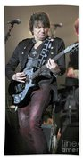 Bon Jovi Guitarist Richie Samboro Beach Towel