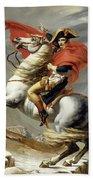 Bonaparte Crossing The Alps Beach Towel