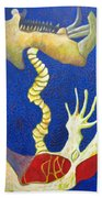 Bone Rocket Tilt Beach Towel