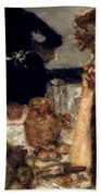 Bonnard: Breakfast, C1899 Beach Towel