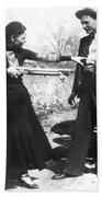 Bonnie And Clyde, 1933 Beach Sheet
