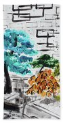 Bonsai And Penjing Museum 3 201733 Beach Towel