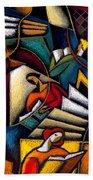 Book Beach Towel by Leon Zernitsky