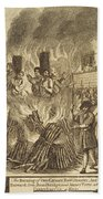 Book Of Martyrs, 1563 Beach Towel