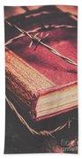 Book Of Secrets, High Security Beach Sheet