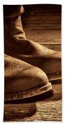 Boots Beach Towel