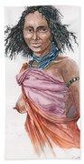 Boran Woman Beach Towel