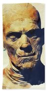 Boris Karloff, The Mummy Beach Towel