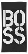 Boss-1 Beach Towel