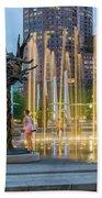 Boston Art 2 Beach Towel