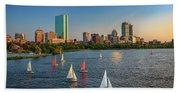 Boston Skyline Summer 2018 Beach Towel