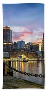 Boston,ma Sunset Beach Sheet
