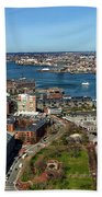 Boston's North End Beach Towel