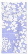 Botanicals Baby Blues Beach Towel